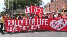 25,000 Pro-Lifers March Through the Streets of Dublin, Ireland Against Abortion http://www.lifenews.com/2015/07/06/25000-pro-lifers-march-through-the-streets-of-dublin-ireland-against-abortion/