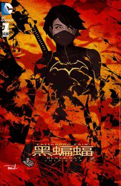 Cassandra cain the black bat by tsbranch on deviantart Batwoman, Batgirl, Hero Poster, Fanart, Cassandra Cain, Black Bat, Marvel Comic Character, Batman Family, Batman Art