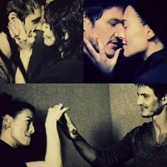 Lena Headey & Pedro Pascal- I know they're not together but Urg relationship goals- ironically!!