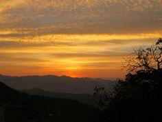 amanecer en Cristo Rey, Silao, Guanajuato.