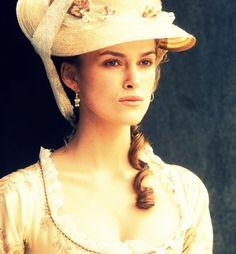 Keira Knightley in, 'The Duchess'.