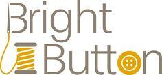 Bright Button logo, designed by Fi & Becs alongside their lovely online haberdashery website