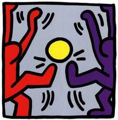 Keith Haring, foot et street art – Le Footichiste Keith Haring Prints, Keith Haring Art, Arte Pop, Keith Allen, James Rosenquist, Graffiti, Poster Prints, Art Prints, Posters