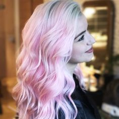 Pink hair by Alice Kieffer