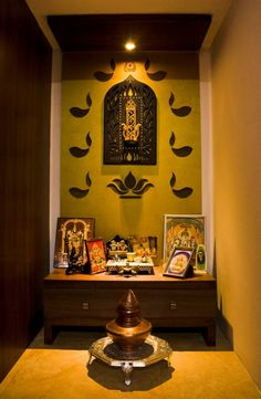 interior design of home temple Temple Room, Home Temple, Design Shop, House Design, Bungalow, Mandir Design, Pooja Mandir, Pooja Room Door Design, Temple Design
