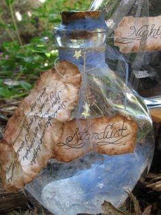 Stardust Bottle by wanderingmermaid on Etsy, $12.95