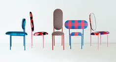 Marc By Marc Jacobs x Nina Tosltrup Re Imagined : Collection de Chaises Fashion
