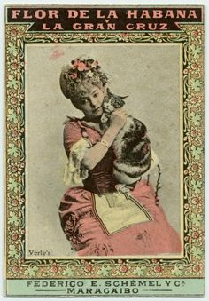 Vintage cigarette card (c. 1900-1905)