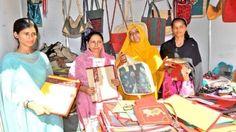 At handicrafts exhibition women showcase success skills