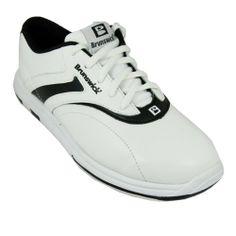 Brunswick Ladies Silk White/Black bowling shoes size