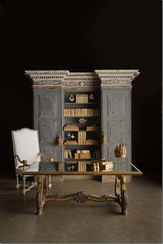 antique books for console
