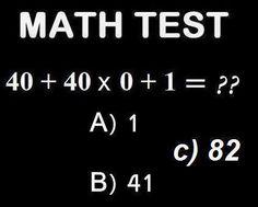 Math Test