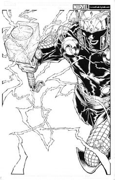 CHARACTER MODEL — ungoliantschilde: Joe Quesada ~ Marvel NOW!...