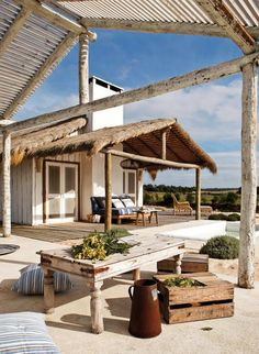 Summer beach house