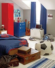 Room Design For Boys 36 modern and stylish teen boys' room designs | digsdigs | model