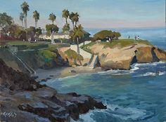 Coastal Morning Light by John Cosby Oil