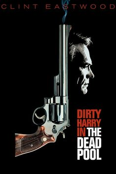 """Clint Eastwood in one of five cult classic film series; """"Dirty Harry"""" #5 The…"""