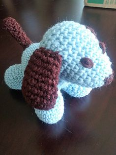 Took me a few hours to complete this guy. Feel free to let me know if something's wrong with the pattern, and I'll be sure to fix it. :) Enjoy your puppy!