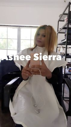 Ashee Sierra at Salon