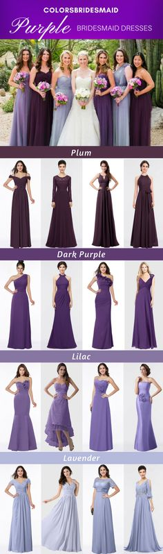 Purple Bridesmaid Dresses Purple bridesmaid dresses in over 500 styles: plum, dark purple, lilac, lavender. Free customized, under cheap bridesmaid dresses that you are! Purple Lace Bridesmaid Dresses, Lace Bridesmaids, Wedding Dresses, Lavender Dresses, Lilac Dress, Bridesmaid Gowns, Wedding Shoes, Purple Wedding Cakes, Wedding Colors