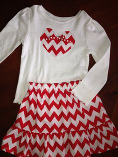 Valentines Day Outfit on Etsy, $30.00