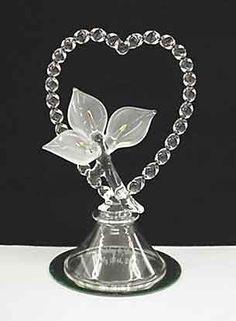 Glass Calla Lily Cake Topper