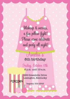 teen birthday party  on pinterest   pin invitations invitation sleepover printable party on pinterest