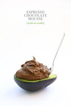 Espresso Chocolate Avocado Mousse