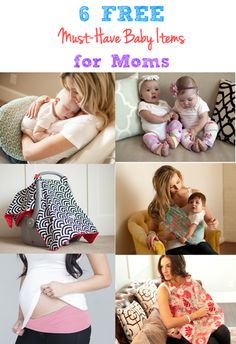 7 FREE Must-Have Baby Items for Moms: Free Nursing Pillow, Baby Leggings, Breast Pads, Carseat Canopy, Baby Sling, Belly Button Band, and Nursing Cover AFrugalHome.com