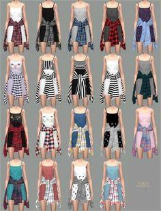 Sleeveless short dress with jacket round waist Mods Sims, Sims 4 Mods Clothes, Sims 4 Clothing, Sims 4 Cas, Sims Cc, Marigold Sims 4, Sims 4 Children, Sims 4 Gameplay, Sims 4 Dresses