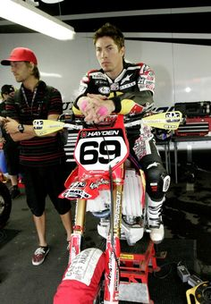Nicky Hayden supermoto