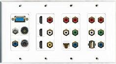 RiteAV Svga 3 HDMI Coax Cat6 3.5mm Toslink USB Composite 2 Component Wall Plate RiteAV http://www.amazon.com/dp/B00VE33OBY/ref=cm_sw_r_pi_dp_g1Ppvb18Z0EPK