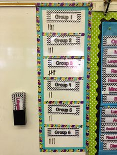 Apples and ABC's: Classroom Organization