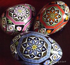 Floral Octagons