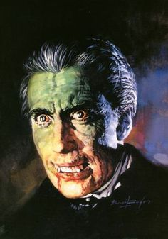 A Basil Gogos rendered Christopher Lee as the MOST BADASS Dracula!