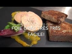 Foie Gras facile cuisson 9 min vapeur! - YouTube Parfait, Chicken Wings, Entrees, Muffin, Food And Drink, Pork, Appetizers, Favorite Recipes, Beef