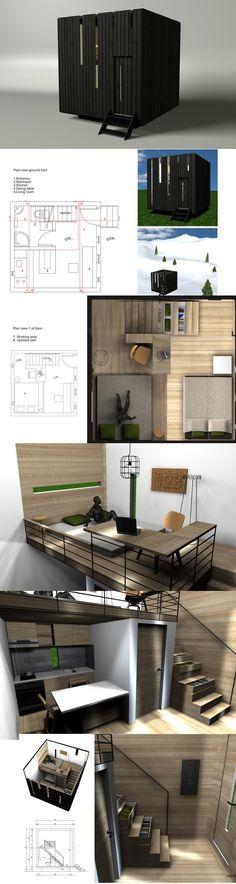 No se necesita mucho, ni muchos m2, para tener un espacio de calidad. Perfectamente diseñado.
