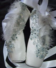 Odette pointe shoes . . . oh my god.