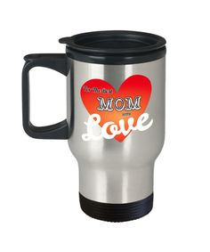 Excited to share the latest addition to my #etsy shop: Mothers Day Travel Mugs Gifts Stainless Steel Mug With Love Quote https://etsy.me/2G9HDqm #housewares #silver #no #stainlesssteel #stainesssteelmug #travelmug #motherstravelmug #mothersdaygifts #bestmommug