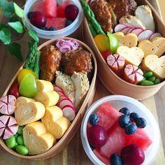 Media Bento, Fruit Salad, Acai Bowl, Potato Salad, Sushi, Lunch Box, Cooking, Breakfast, Ethnic Recipes