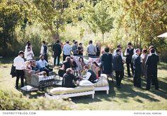 Outdoor reception | Photographer: Adel Ferreira Photography, Venue: Olive Rock