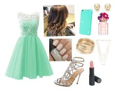 """""""Pretty outfit"""" by paytonhudson ❤ liked on Polyvore featuring Sergio Rossi, Gorjana, Tiffany & Co. and Marc Jacobs"""