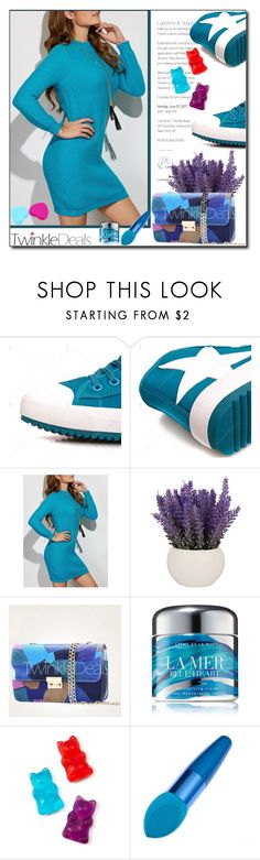 """""""Something Blue by Twinkle Deals 37/I"""" by esma178 ❤ liked on Polyvore featuring La Mer and Celebrate Shop"""