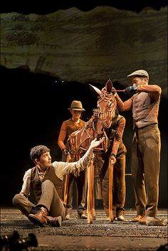 War Horse was incredible. Seriously. The puppets are a thing of beauty.