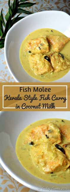 Fish Molee - Kerala Style Fish Curry with Coconut Milk - Kerala Christmas Recipes