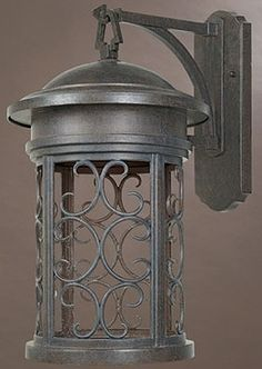 "0-000669>20""h Ellington Dark Sky Outdoor Wall Lantern Mediterranean Patina"