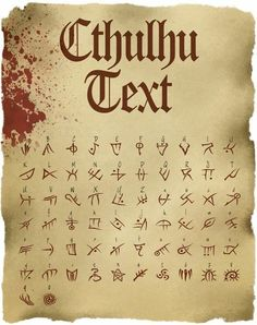 Cthulhu text