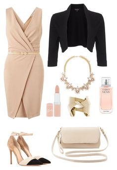 """""""Strictly Business"""" by krys-imvu on Polyvore featuring Miss Selfridge, Gianvito Rossi, Charlotte Russe, Phase Eight, Forever 21, Calvin Klein, Rimmel, women's clothing, women and female"""