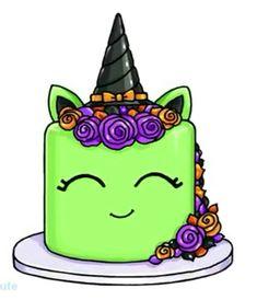 - For Halloween Chibi Kawaii, Kawaii Doodles, Kawaii Art, Cute Food Drawings, Cute Kawaii Drawings, Draw So Cute Food, Cartoon Network Powerpuff Girls, Fall Canvas Painting, Witch Cake