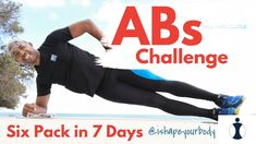 Day 1 of 7 - challenge yourself!  #abs #abdominal #exercises #core #workout #fit #fitness #ishapeyourbody